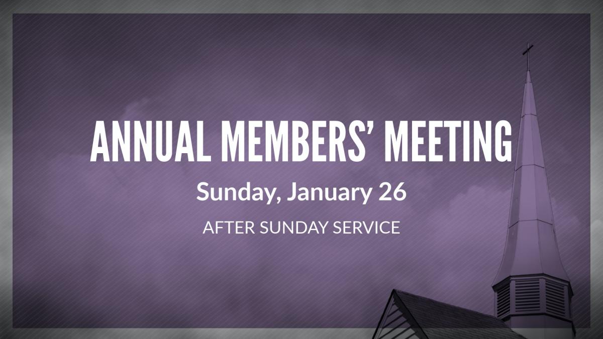 Annual Members' Meeting